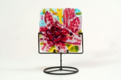 magnolias-fused-glass