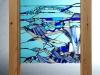Glacier detail, glass applique