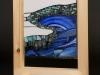 River, glass applique