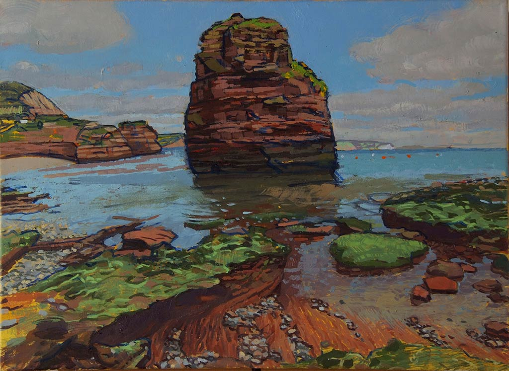 Ladram-Bay-Exmouth-55x70-oic